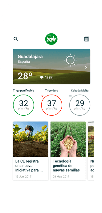 Agrodei Mobile Application